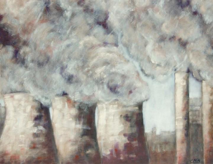 Dampf und Rauch