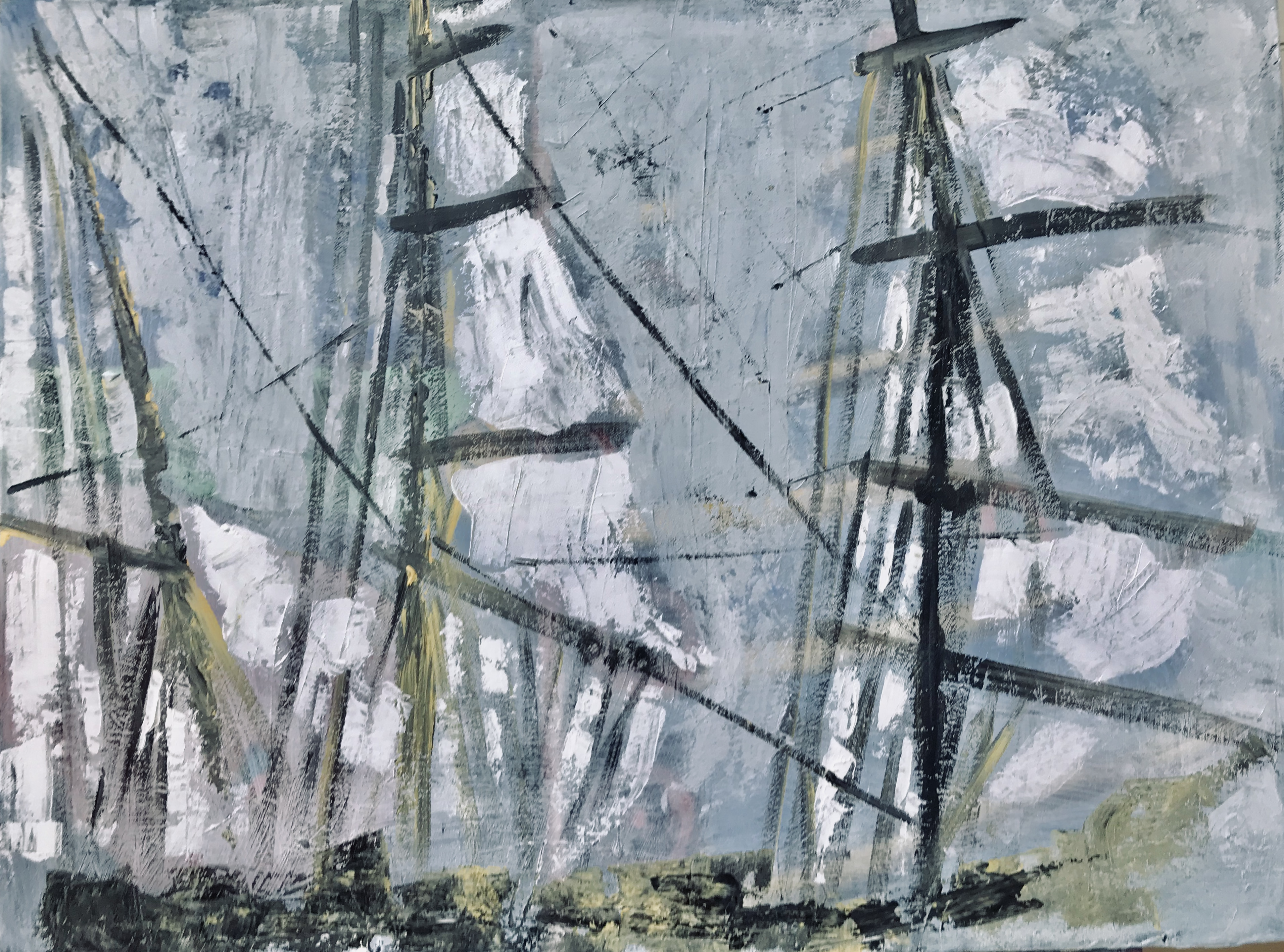 Acryl auf Leinwand, 800 x 600
